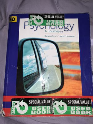 Psychology: A Journey textbook for Sale in Selma, CA