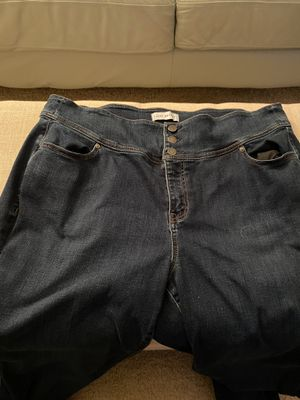 Lane Bryant 3 Button High Rise Jeans for Sale in Miramar, FL