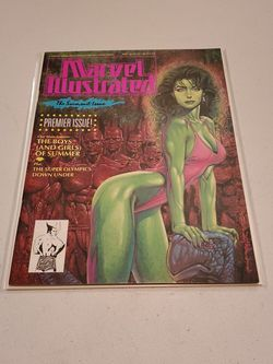 Marvel Illustrated Swimsuit Issue 1 Marvel Comics 1991 She Hulk Cover Mary Jane Pin Up By Joe Jusko Rare High Grade Raw Unread And Ungraded Near Mint+ for Sale in Fresno,  CA