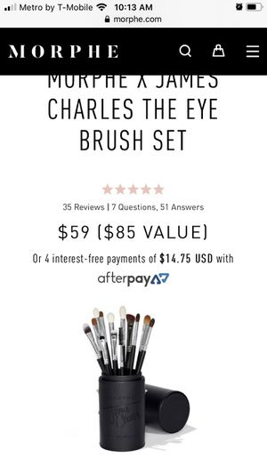 New James Charles makeup brush set! for Sale in Ontario, CA