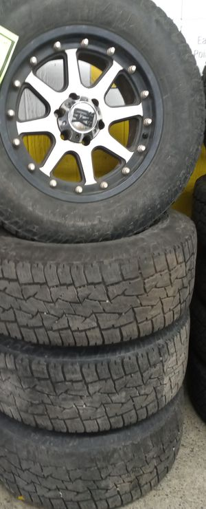 Mud tires and wheels for Sale in Tacoma, WA