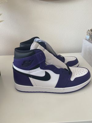 Jordan 1 Court Purple 2.0 for Sale in Santa Ana, CA