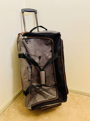 Large Coleman Luggage Rolling Duffel Bag for Sale in Alexandria, VA