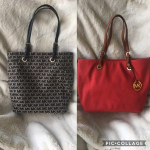 Two Authentic Michael Kors Tote Bags for Sale in Peabody, MA