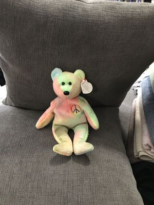 Peace beanie baby original collectible for Sale in Gresham, OR