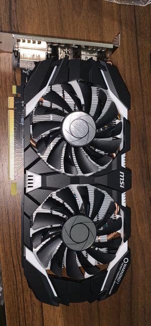 MSI GTX Nvidia 1060 3gb graphics card for Sale in Reno, NV