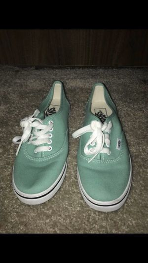 Turquoise vans for Sale in Mukilteo, WA