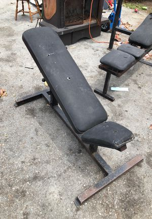 Bench set/ weight holder. for Sale in Palo Alto, CA