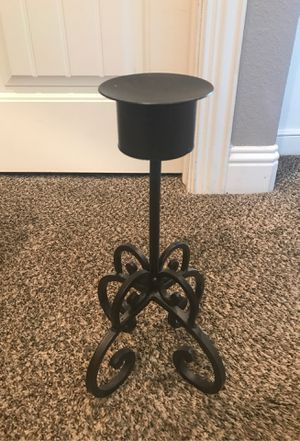 Solid metal candle holder for Sale in Wylie, TX