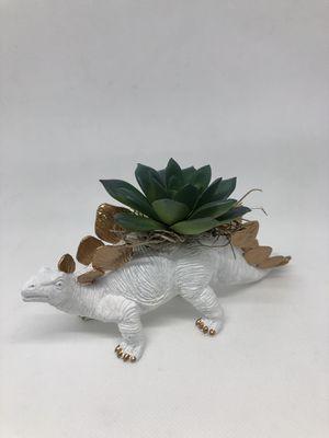Handmade Dinosaur Succulent Figure Gold for Sale in Shepherdstown, WV