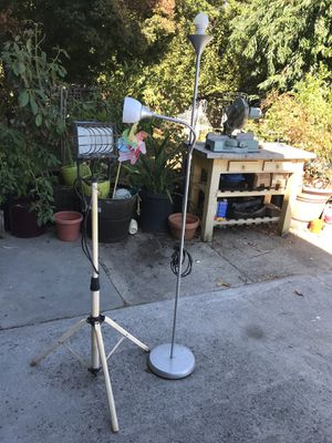FREE work light and floor lamp. for Sale in Palo Alto, CA