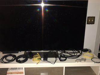 Sony TV 55 Inch, and Spectrum Cords/Remotes. for Sale in Montgomery,  AL