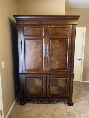 Beautiful Armoire Dresser/TV Stand for Sale in Fort McDowell, AZ