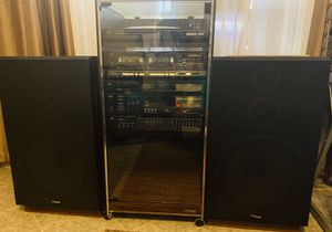 Fisher standard signature stereo system with speakers for Sale in Sun City, AZ