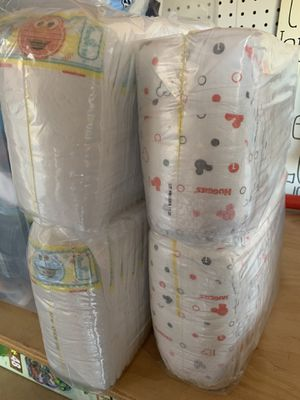 128 size 1 diapers pampers and huggies for Sale in Poway, CA