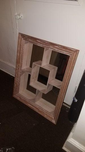 Mirror wall shelf for Sale in Philadelphia, PA
