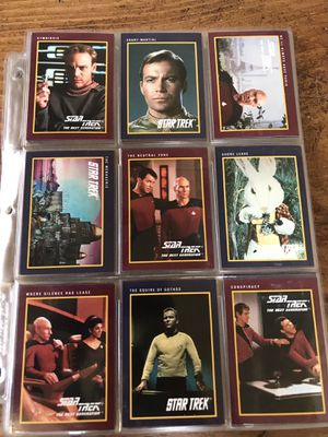 1991 Star Trek 25years card collections for Sale in Los Angeles, CA