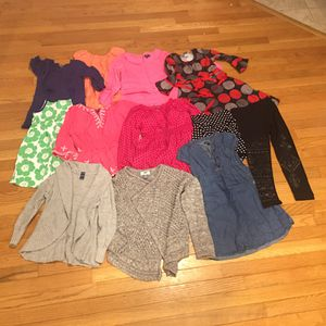 12 piece Kids girls clothes bundle $25 obo for Sale in Glastonbury, CT