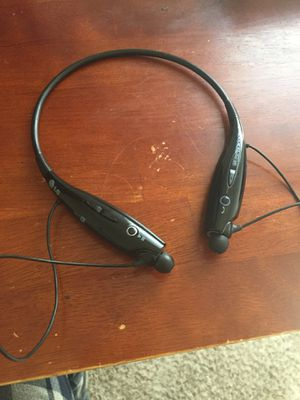 Lg headphones Bluetooth for Sale in Oak Point, TX