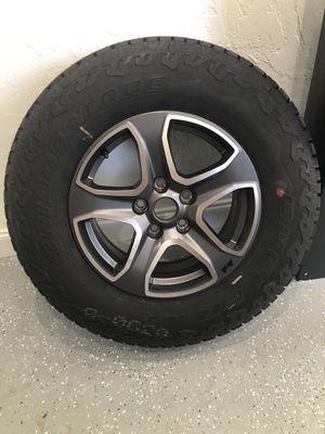 Jeep Wrangler NEW Wheels & Tires - (5) for Sale in Delray Beach, FL