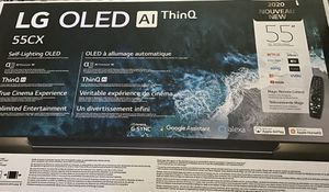 LG OLED 55CX AI THinQ 2020 55'' Brand New for Sale in Denver, CO
