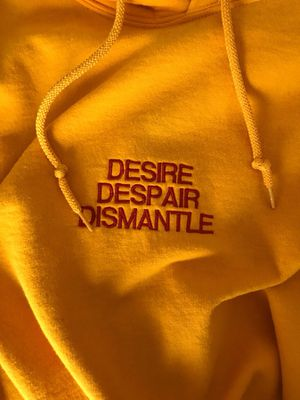DESIRE/DESPAIR/DISMANTLE CUSTOMIZED HOODIE for Sale in Euless, TX