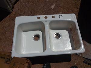 Kohler cast iron sink for Sale in Apache Junction, AZ