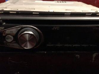 JVC car stereo AUX mp3 for Sale in San Bernardino,  CA