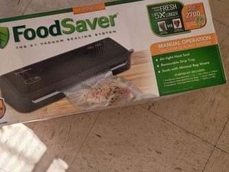 Foodsaver FM2000 Vacuum Sealer System for Sale in Hawthorne,  CA