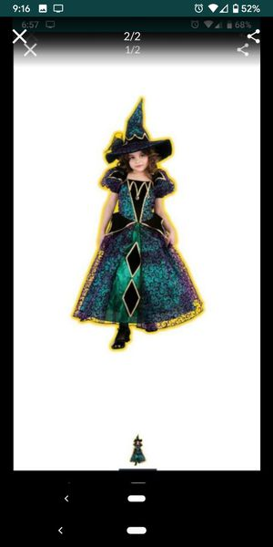 Witch costume 4-6T for Sale in Kenneth City, FL