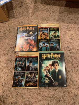 Assorted Harry Potter Movies for Sale in Grover Beach, CA