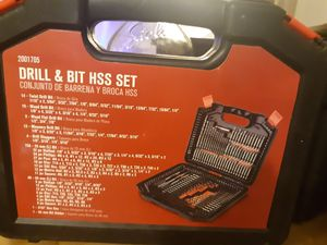 Drill and bit HSS for Sale in Phoenix, AZ