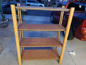 Lodge pole shelf rack for Sale in Mesa, AZ