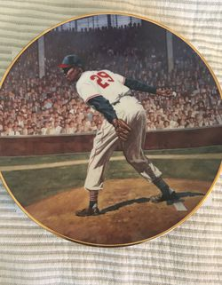 Collectible Plate : Satchel Paige for Sale in Broomfield,  CO