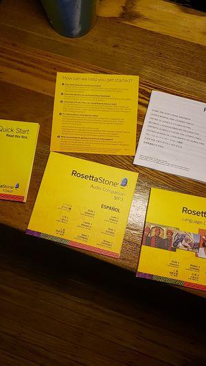 Rosetta Stone Spanish for Sale in Buffalo, NY