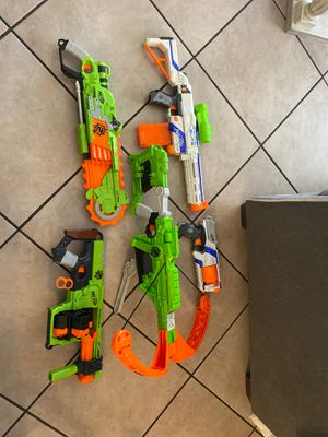Nerf guns no bullets for Sale in Lynwood, CA