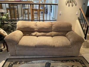 Living room couch and rocking recliner chair furniture for Sale in Las Vegas, NV
