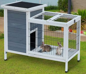 "Brand New 36"" Raised Outdoor Weatherproof Rabbit Hutch pickup Spanaway for Sale in Puyallup, WA"