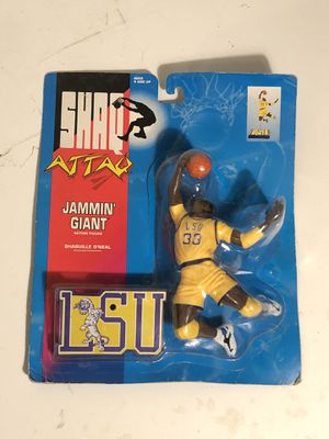 1993 Kenner Shaq Attack Jammin Giant Shaquille O'Neal Action Figure for Sale in Fresno, CA