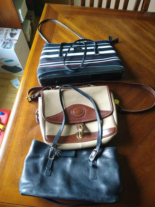 Kate Spade, Coach, Dooney & Bourke purses
