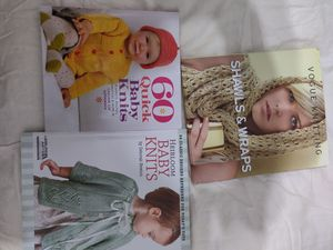 3 brand new Knitting books for Sale in Tustin, CA