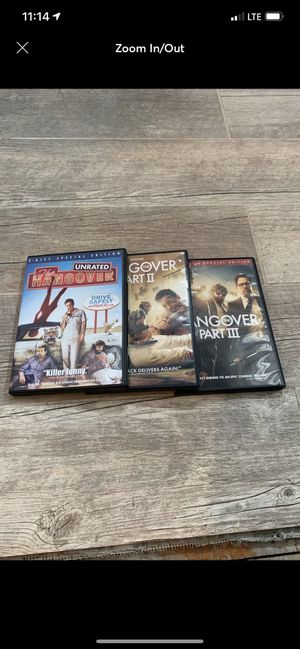 The Hangover Trilogy DVD's for Sale in Providence, RI