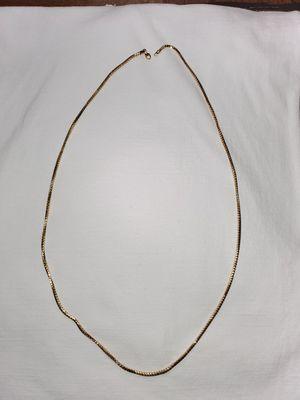 Franco chain 14k gold for Sale in Austin, TX