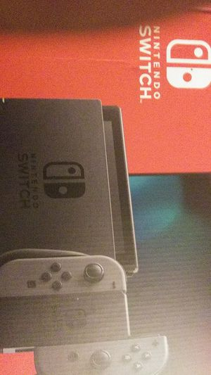 Nintendo switch black and charcoal grey for Sale in Portland, OR