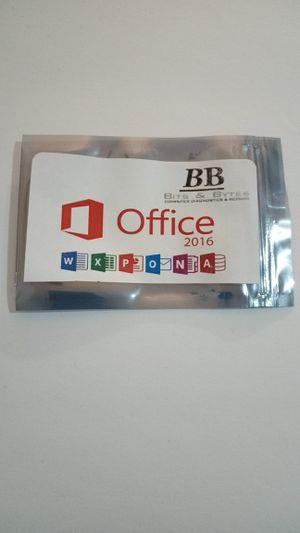 Microsoft Office 2016 (Professional Plus) for Sale in Columbus, GA