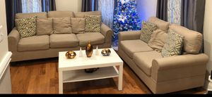 2 Sofas + Table for Sale in Perth Amboy, NJ