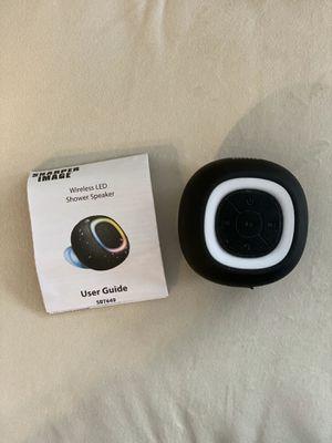 Sharper Image Shower LED Bluetooth Speaker for Sale in Hampton, VA