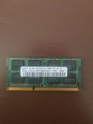 Samsung 2GB 2RX8 PC3 8500S for Sale in Minneapolis, MN