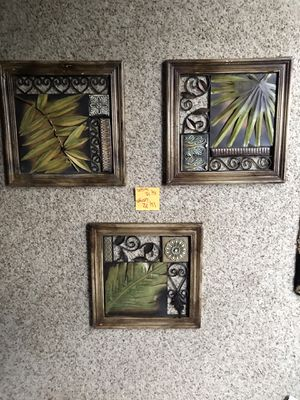 Metal wildlife/ tropical themed decor for Sale in Springfield, VA