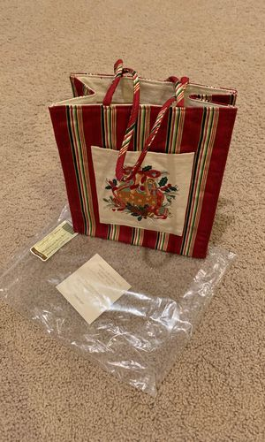 Longaberger Holiday Tote Bag 2005 for Sale in Arlington Heights, IL